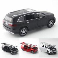1:32 GLS 580 SUV Off-road Die Cast Modellauto Spielzeug Ton Licht Sammlung Kind