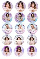12 mini disque azyme cupcakes  violetta pour gateaux , enfant