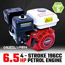6.5HP OHV Petrol Engine Stationary Motor Horizontal Shaft Recoil Start