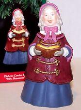 1991 NEW Hallmark Ornament Dickens Caroler BELL Mrs. Beaumont 2nd QX5039 MIB