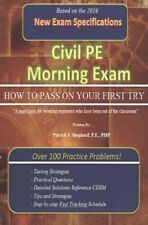 civil pe exam products for sale | eBay