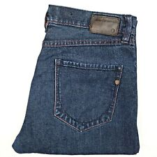 Ben Sherman Hampstead Men's Jeans Size W34 L30 Dark Blue Slim Fit Tapered Leg