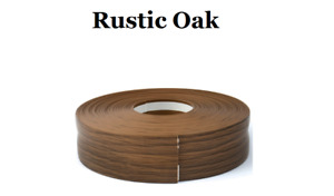 Rustic Oak SKIRTING BOARD PVC FLEXIBLE - SELF ADHESIVE PVC 5m-25m linear metres