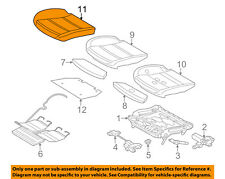 BMW OEM 14-16 528i xDrive Front Seat-Cushion Bottom Cover 52107364315