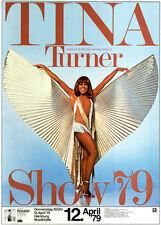 Tina Turner Show '79 ORIGINAL A1 Konzertplakat 1979