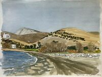 Karl Adser 1912-1995 Gourna Playa Beach Leros Ägäis Mediterráneo Grecia