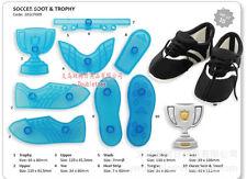 3D Soccer Boot & Trophy - Set of 8 - Sugarcraft Cutter Cake Decorating