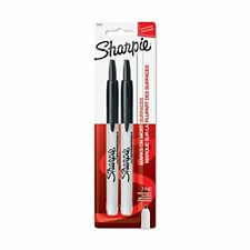 Sharpie Retractable Permanent Markers Fine Point Black 2 Count - 32724PP
