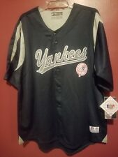 New York Yankees Mens size XL Button Down Baseball Jersey NWT MLB Official...