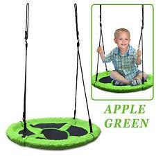 "40"" Tree Swing Saucer Spinner Round Nest Swing w Padded Kid Child Family Hammock"