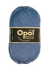 Opal 100g 4-fädig Uni Sockenwolle (5195 Jeansblau)