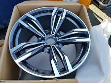 "BRAND NEW BMW M6 F12 F13 20"" rear alloy wheel rim M3 M4 Styling M433 36112284451"