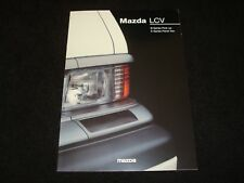 MAZDA B SERIES PICK-UP & E SERIES PANEL VAN UK SALES BROCHURE JUNE 1995 NEW, OLD