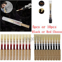 Reed Expression 5/10Pcs Quality Oboe Reeds Medium Soft ,Red/Black