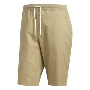 adidas ORIGINALS MEN'S DAILY SHORTS BEIGE CHINO SUMMER HOLIDAY SMART CASUAL NEW