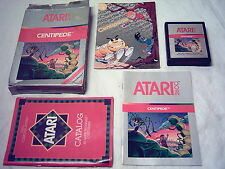 ATARI 2600 7800 GAME; CENTIPEDE 1982 *Complete in Box* DC Comic Book ALL Papers