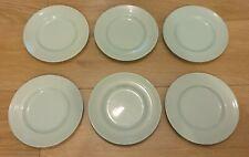 TEA PLATES WOOD/'S WARE  BERYL SET OF 6 VINTAGE RETRO SIDE PLATE