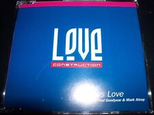 Love Construction Endless Love Australian Remixes CD Single – Like New