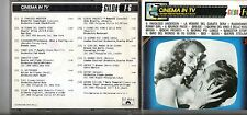 CINEMA IN TV CD 1992  FRANK CHACKSFIELD BEE GEES DAVID ROSE MANTOVANI KARL MAYER