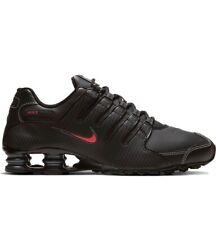Nike Shox NZ Men's Shoes Size 9.5 Black Red White Running 378341-017