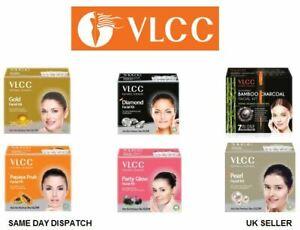 VlCC Facial Kit Actived Bamboo Charcoal Purified Glowing Skin Salon Black Heads