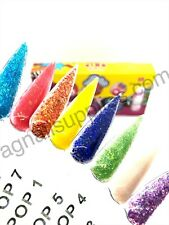 Nail Factory PINK POP COLLECTION 8 Color + 1 Monomer. Colecciones. Powdered