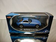 SOLIDO 1556 ALFA ROMEO NOVOLA - 1999 - METALLIC BLEU 1:43 - NEAR MINT IN BOX