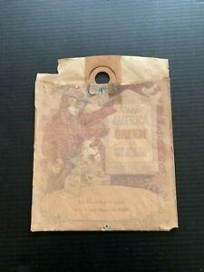 1970's Keep America Green and Clean Smokey Bear Litter Bag