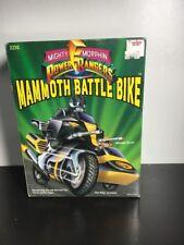 Triceratops Battle Bike & Blue original Power Rangers figure Bandai 1993 MIB NEW