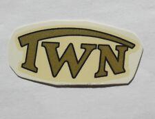 TRIUMPH TWN inscription décalque décalcomanie à eau 62802t 42x19 mm, or