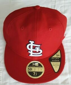 Brand New St. Louis Cardinals New Era 59FIFTY Retro-Crown Size 7 1/2