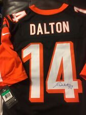 ANDY DALTON Signed CINCINNATI BENGALS Jersey
