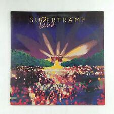 SUPERTRAMP Paris SP06702 Dbl LP Vinyl VG+ near ++ Cover VG+ near ++ GF Sleeve