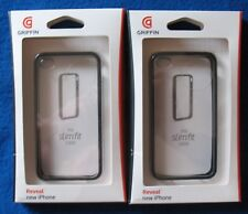 2 Pack! Griffin Reveal Slim Fit Protective Case - Apple iPhone 4G 4S -