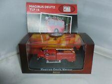 More details for atlas editions diecast fire engine magirus deutz mercur