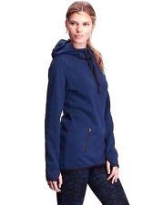 OLD NAVY NEW Sexy Blue Thumbhole Sleeves Sweater Fleece Tunic Hoodie-Small QCO
