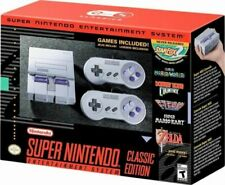Nintendo Super NES Console - Classic Edition EMULATION MODDED (NEW)