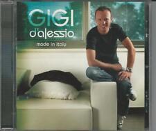CD  GIGI D'ALESSIO : MADE IN ITALY     NUOVO  NON SIGILLATO