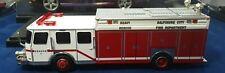 Baltimore City Fire Heavy Rescue E-1 1:50 Scale Diecast Model Red/White By Corgi