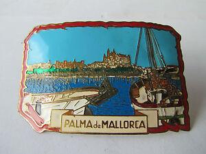PALMA DE MALLORCA  EMAILLE ? BEMALT ? AUTOPLAKETTE  PLAKETTE BADGE PLAQUE PLACCA