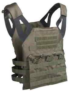 Plate Carrier Weste GEN.II oliv, Paintball, MagFed, Softair, Airsoft