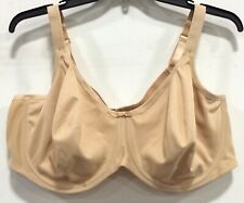 Elomi Womens EL3911 Seamfree Underwire Full Support Bra Nude Size 48DDD