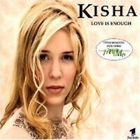 Kisha Love is enough (1998, #621912) [Maxi-CD]