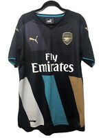 Arsenal 3rd Kit PUMA Dry Cell 2015/16 Short Sleeve Top Jersey - MENS SIZE M