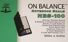 Nel complesso, Digital NOTEBOOK scala [ max: 100gr precisione: 0.01 gr ] modello: nbs100