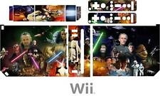 Nintendo WII STAR WARS Vinyle Peau Autocollant Decal