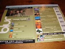 BLUR THINK TANK + DISCOGRAPHY!!!!!RARE FRENCH PRESS/KIT