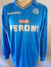 Napoli 2000-2001 Home Football Shirt Size Extra Large XL
