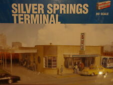 Walthers Cornerstone HO #2934 Silver Springs Bus Terminal -- Kit Form