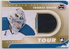 THOMAS GREISS 2011-12 ITG Between the Pipes BTP 1/1 JERSEY Cross Canada Tour *